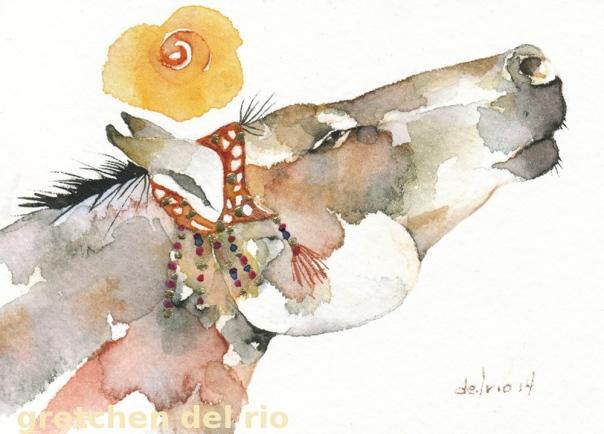 watercolor aceo 3/2014