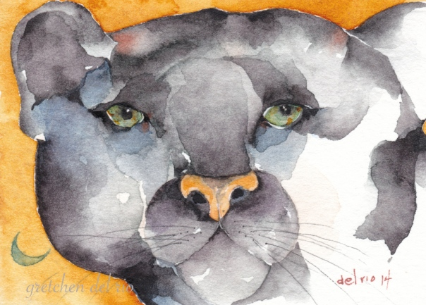 watercolor aceo 10/2014