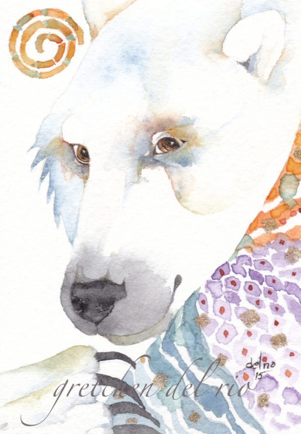 watercolor aceo 10/2015